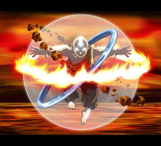 Avatar Aang from The Last Airbender Series