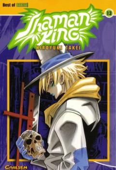 Shaman King Manga Volume Cover