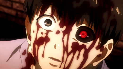 Tokyo Ghoul Bloody Scene
