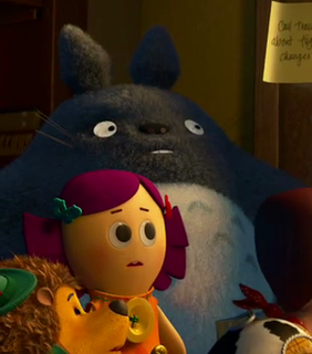 Totoro Toy Story 3