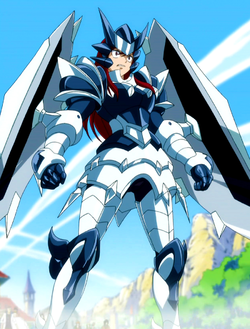 Ezra's Adamantine Armour Fairy Tail manga 30 day anime challenge cosmic anvil