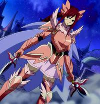 Ezra's Armadura Fairy Armour Fairy Tail manga 30 day anime challenge cosmic anvil