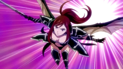 Ezra's Black Wing Armour Fairy Tail manga 30 day anime challenge cosmic anvil