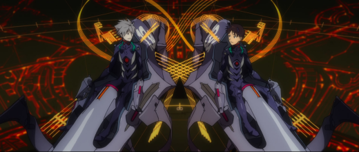Kaworu Shinji Eva 13 neon genesis evangelion mech anime manga anno 30 day anime challenge cosmic anvil