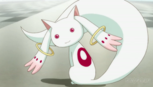 kyubey turned around