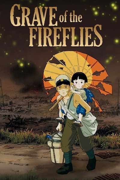 Studio Ghibli Grave of the Fireflies Anime Hayao Miyazaki cosmic anvil 30 day anime challenge