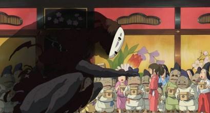 No Face, Spirited Away, Studio Ghibli, 30 Day Anime Challenge cosmic anvil