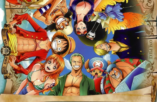 Squad goals = The One Piece.