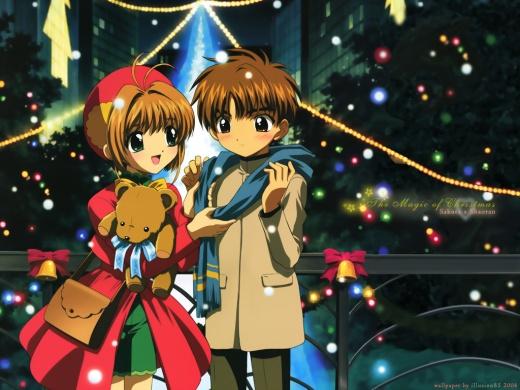 Sakura Syaoran Li Cardcaptor Sakura Cardcaptors anime manga couples romance 30 day anime challenge cosmic anvil