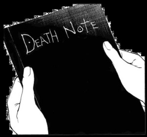 30 day anime challenge cosmic anvil death note