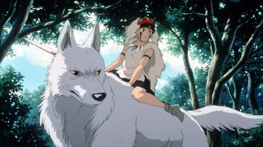 Princess Mononoke Cosmic Anvil 30 Day anime challenge blog