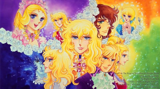 The Rose of Versailles Lady Oscar Anime
