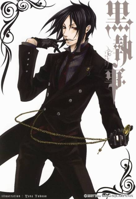 Sebastian Michaelis Black Butler Cosmic Anvil 30 Day Anime Challenge