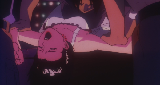 Mima's rape scene in the TV show